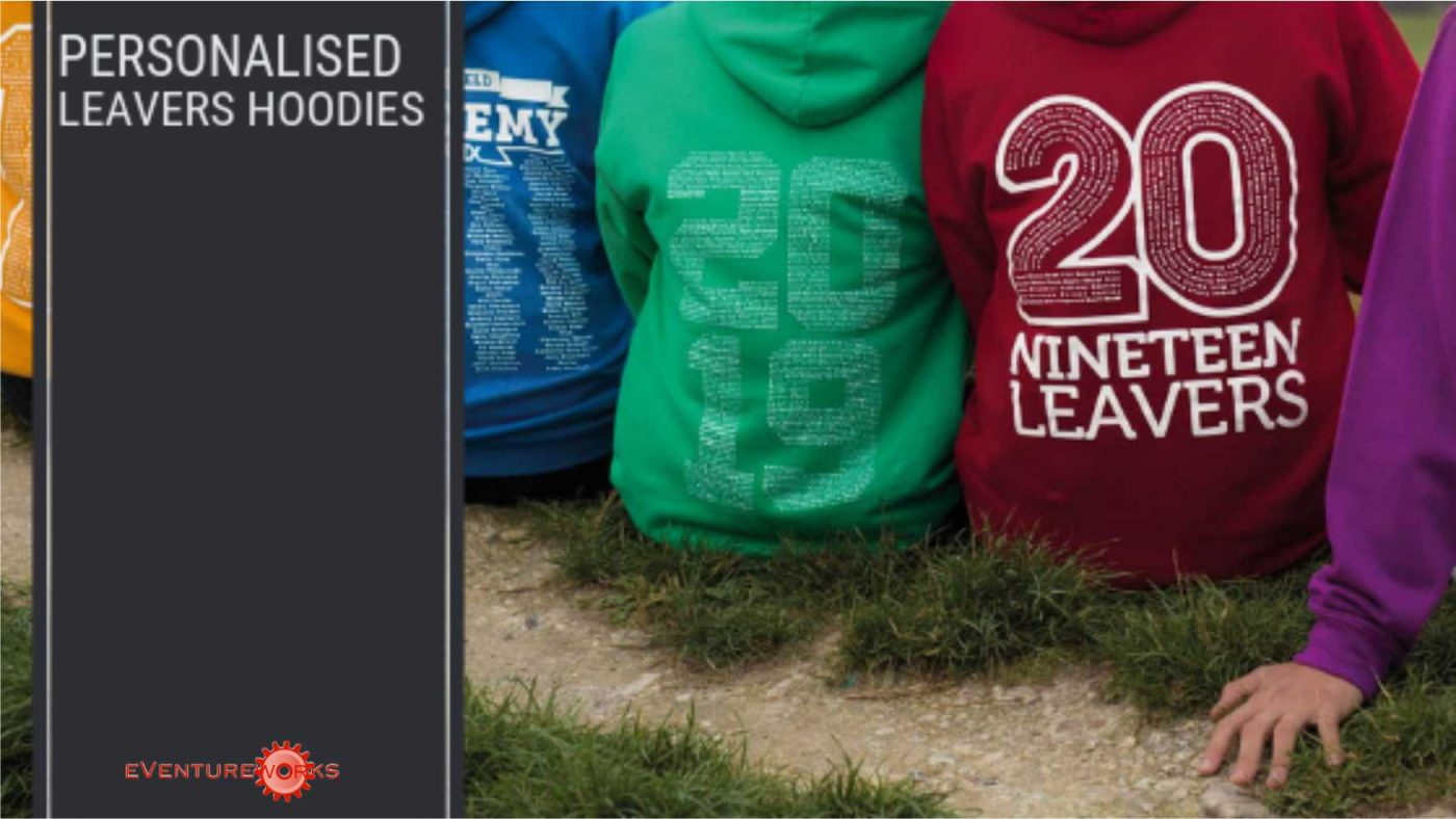 personalised school leavers hoodies