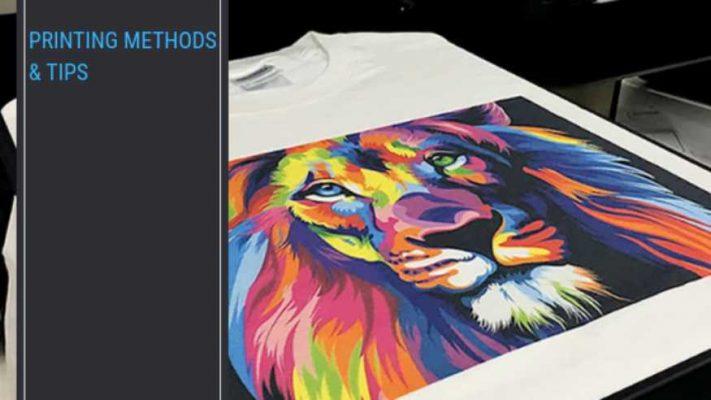 screen printing, DTG printing, sublimation printing, vinyl printing, embroidery